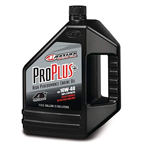 Maxima (30-029128 Pro Plus+ 10W-40 Synthetic Motorcycle Engine Oil - 1...