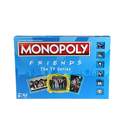 MONOPOLY: Friends The TV Series Edition Board Game for Ages 8 and Up; Game...