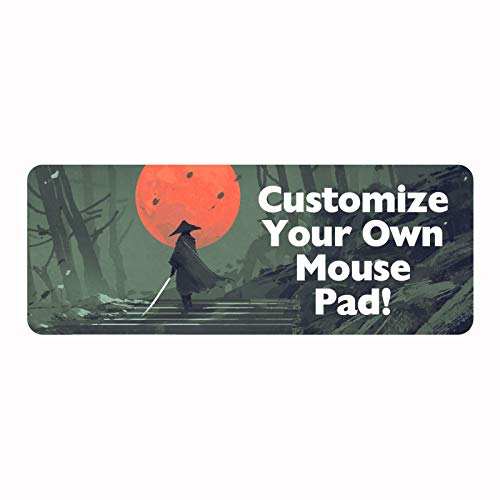 Personalized Professional Gaming Mouse Pad - Add Photo Text or Logo and...