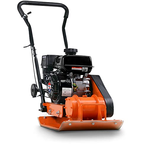 SuperHandy Plate Compactor Rammer 7 HP Gas Engine 4200-Pounds of Compaction...
