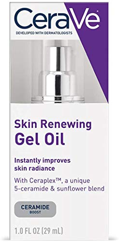 CeraVe Gel Oil   1 Ounce   Anti Aging Gel Serum for Face to Boost Hydration...