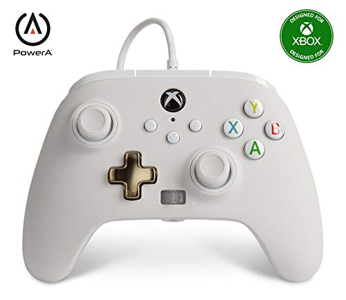 PowerA Enhanced Wired Controller for Xbox - Mist, Gamepad, Wired Video Game...