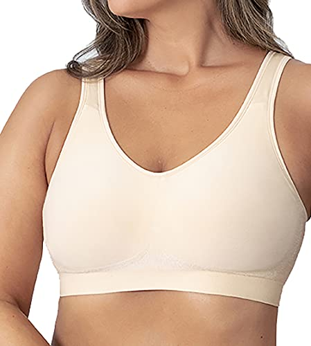 Shapermint Compression Wirefree Support Bra for Women Small to Plus Size...