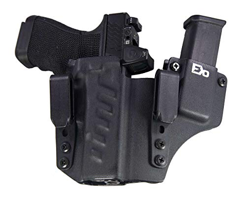 Fierce Defender IWB Kydex Holster Compatible with Glock 19 23 32 -The +1...