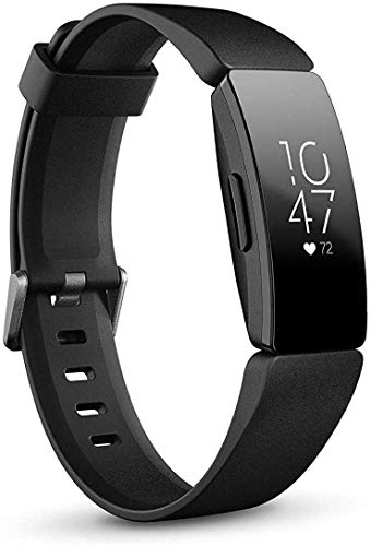 Fitbit Inspire HR Heart Rate and Fitness Tracker, One Size (S and L Bands...