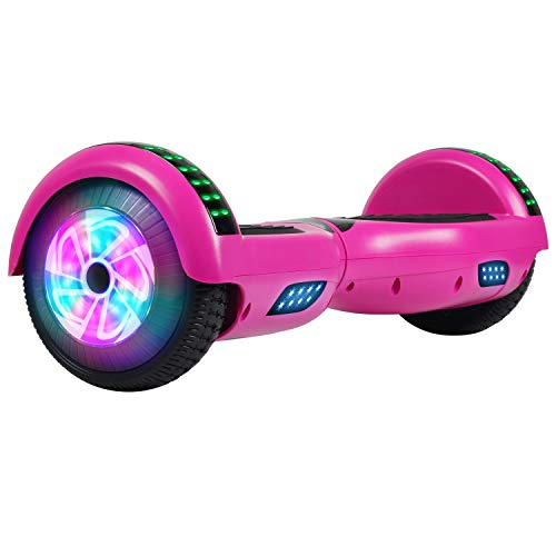 CHIC Hoverboard, 6.5' Self Balancing Scooter Hover Board with Bluetooth...