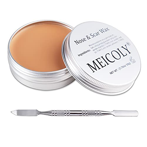 MEICOLY Scar Wax Kit Fake Modeling Wound Skin Wax(1.67Oz) Special Effects...