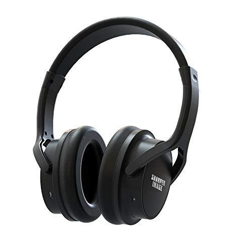 Sharper Image OWN ZONE Wireless Rechargeable TV Headphones- RF Connection,...