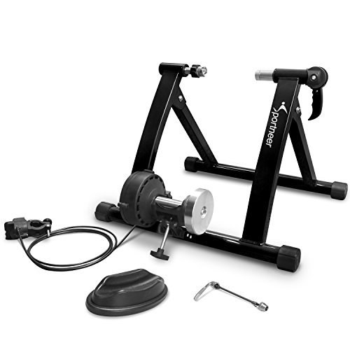Sportneer Bike Trainer Stand Steel Bicycle Exercise Magnetic Stand with...