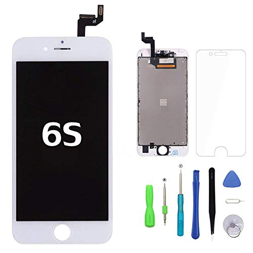 Screen Replacement for iPhone 6s White Touch Screen Digitizer LCD Display...