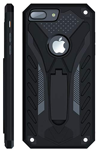 Kitoo Designed for iPhone 8 Plus Case with Kickstand, Military Grade 12ft....