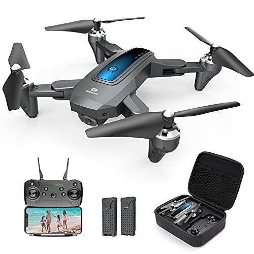 DEERC Drone with Camera 1080P HD FPV Live Video 2 Batteries and Carrying...