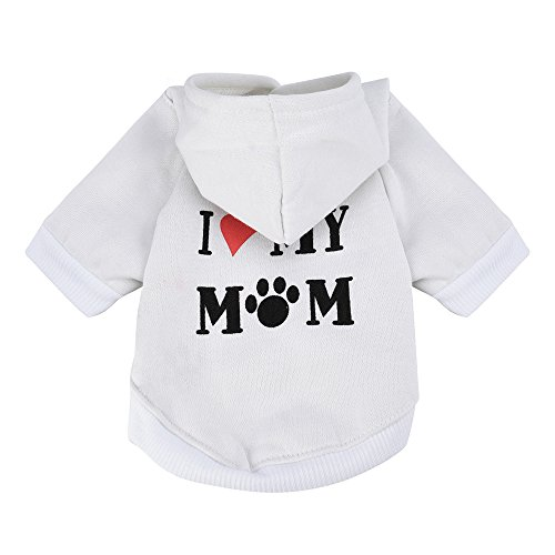 Puppy Clothes Small Pet Dog Clothes Fashion Costume Puppy Cotton Blend...