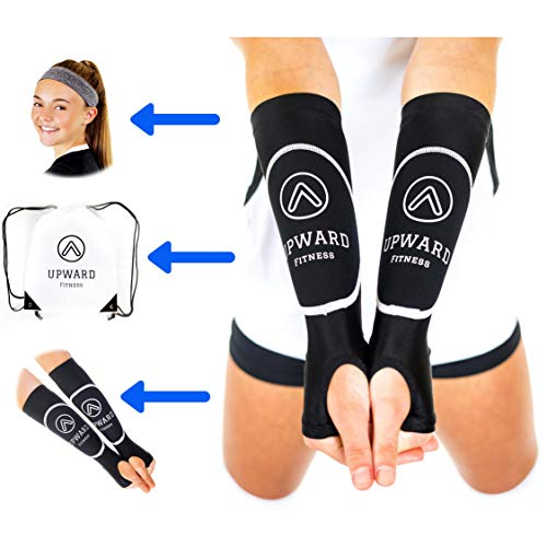 Upward Fitness - Volleyball Arm Sleeves for Girls and Boys -Package Deal...
