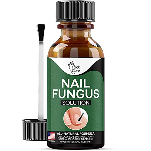Foot Cure Extra Strong Nail & Toe Fungus Treatment - Made In USA, Best Nail...