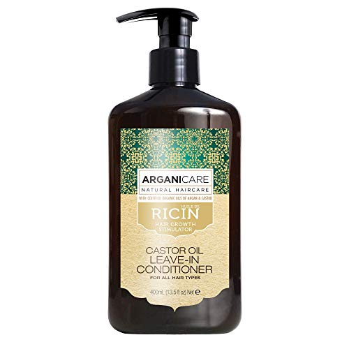 Arganicare Castor Oil Leave-In Conditioner enriched with Organic Oils of...