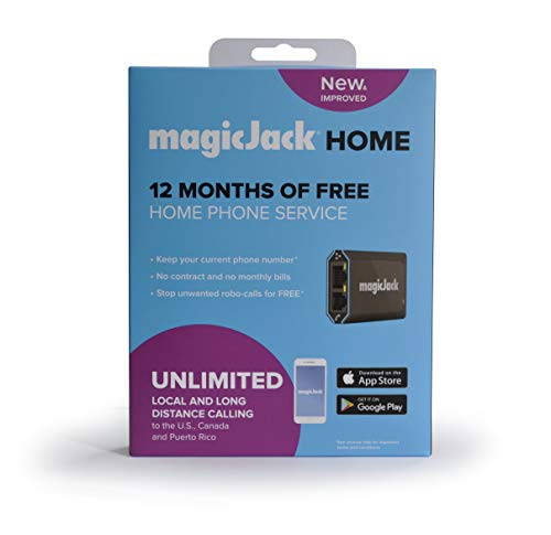 magicJackHome VoIP Phone Adapter   Portable Home & Digital Phone Service  ...