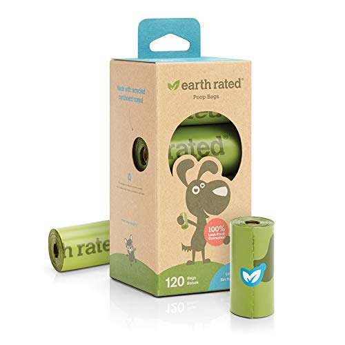 Earth Rated Dog Poop Bag - 120 Waste Bags For Dogs | Extra Thick Unscented...