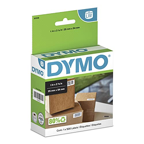 DYMO LW Multi-Purpose Labels for LabelWriter Label Printers, White, 1'' x...
