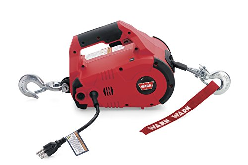 WARN 885000 PullzAll Corded 120V AC Portable Electric Winch with Steel...