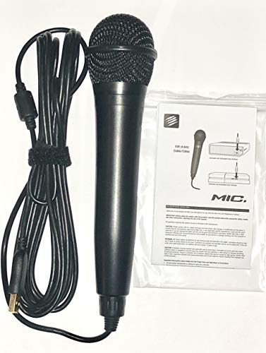 Rock Band USB Karaoke Microphone for PS3, PS4, X-Box One, X-Box 360, PC &...