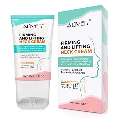 Neck Firming Cream, Neck Tightening and Lifting Cream, Moisturizer for Neck...