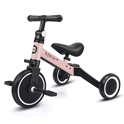 XJD 3 in 1 Kids Tricycles for 10 Month to 3 Years Old Kids Trike Toddler...