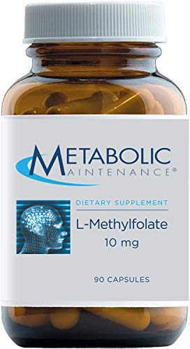 Metabolic Maintenance L-Methylfolate 10mg - High Dose Active Folate...