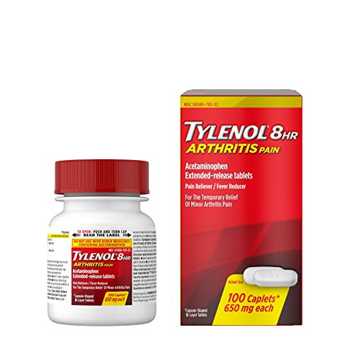 Tylenol 8 Hour Arthritis Pain Tablets with Acetaminophen for Joint Pain,...