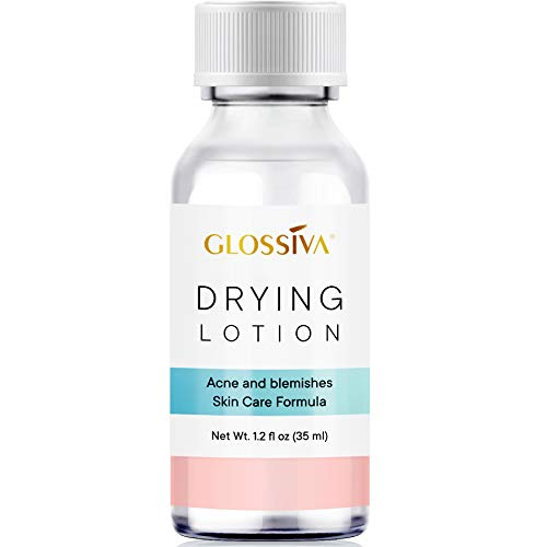 Glossiva Drying Lotion, Acne Spot Treatment Dries Out Pimples, Blemishes,...