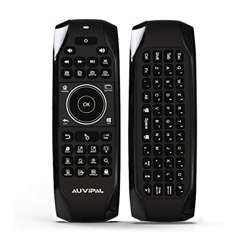 AuviPal G10 Backlit 2.4GHz Wireless Air Mouse Remote with Shortcut Keys,...