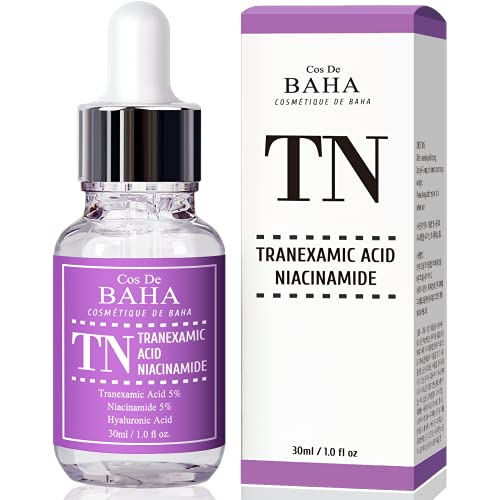 Tranexamic Acid 5% Serum with Niacinamide 5% for Face/Neck - Helps to...