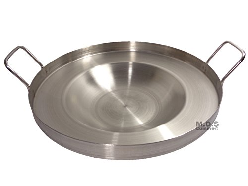 16' Inch Comal Stainless Steel Concave Frying Gas Stove Outdoors Heavy Duty...