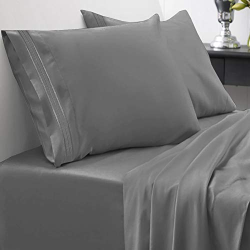 Sweet Home Collection 1800 Thread Count Soft Egyptian Quality Brushed...