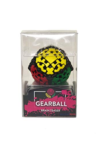 GEAR BALL by Mefferts- Speed Cube, 3x3 Speed Cube, One-player Games, Brain...
