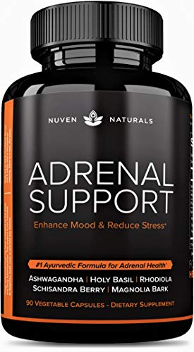 Adrenal Support — Natural Adrenal Fatigue Supplements, Cortisol Manager...