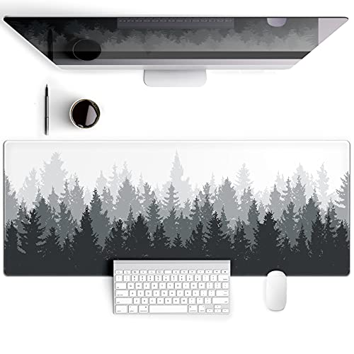 Galdas Gaming Mouse Pad Forest Background Pattern XXL XL Large Mouse Pad...