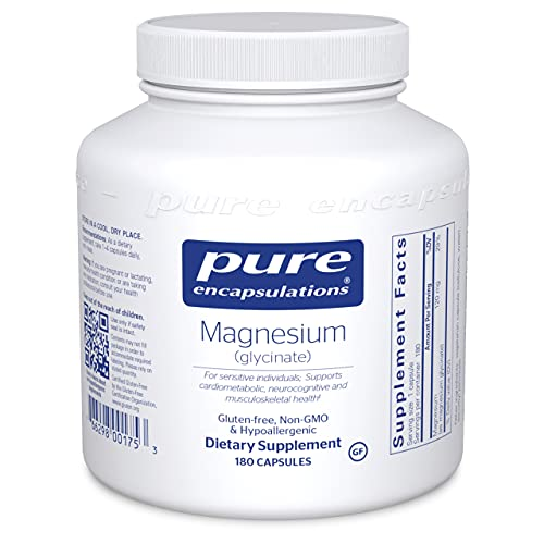 Pure Encapsulations - Magnesium (Glycinate) - Supports Enzymatic and...