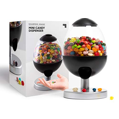 SHARPER IMAGE Mini Automatic Touch-Activated Candy & Snack Dispenser,...
