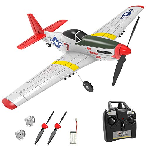 Top Race RC Plane 4 Channel Remote Control Airplane Ready to Fly RC Planes...