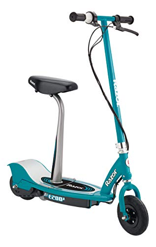 Razor E200S Electric Scooter - 8' Air-filled Tires, 200-Watt Motor, Up to...