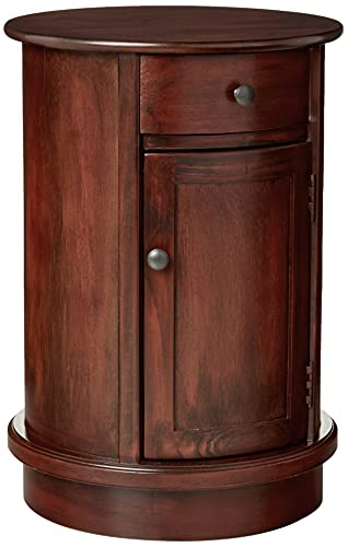 Decor Therapy Side Table, Vintage Cherry Finish