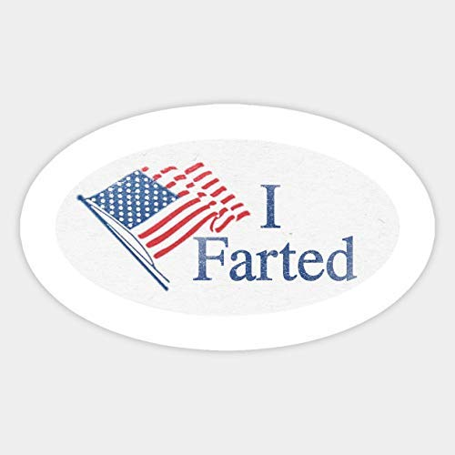 Pack of 6-2' Stickers -I Farted Sticker