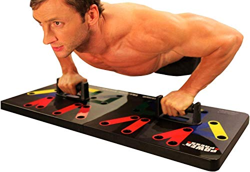Power Press Original Push Up ~ Color-Coded Wide Push Up Board System (30+...
