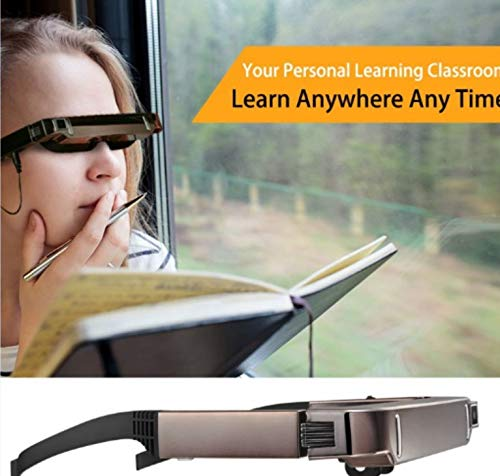SSEDEW Vision 800 Smart Android WiFi Glasses Wide Screen Portable Video 3D...