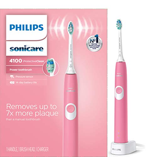 Philips Sonicare ProtectiveClean 4100 Rechargeable Electric Toothbrush ,...