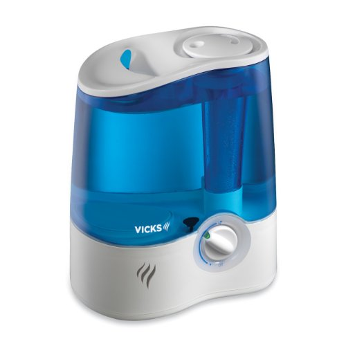 Vicks Ultrasonic Humidifier Cool Mist Humidifier to Help Relieve Cold and...