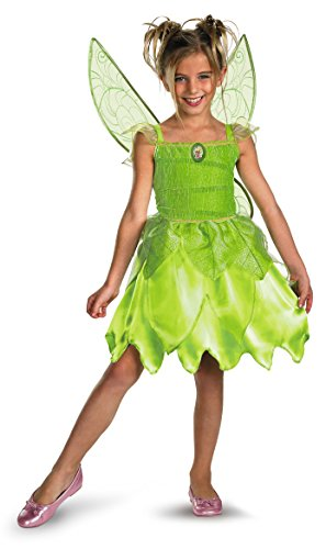 Disguise Disney Tinker Bell and The Fairy Rescue Classic Girls' Costume,...