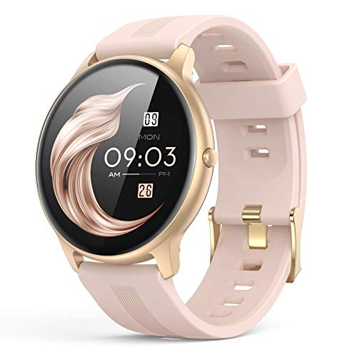 Smart Watch for Women, AGPTEK Smartwatch for Android and iOS Phones IP68...