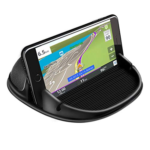 Loncaster Car Phone Holder, Car Phone Mount Silicone Car Pad Mat for...